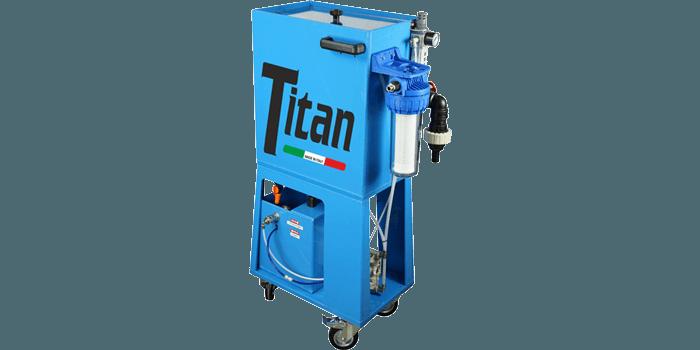 Disoleatore per emulsioni TITAN
