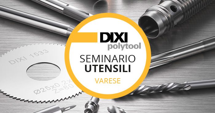 Seminario Utensili 14 Novembre 2019 Saronno (VA)