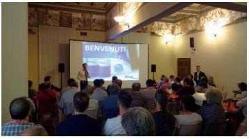 uno dei momenti del seminario organizzato dalla Ridix