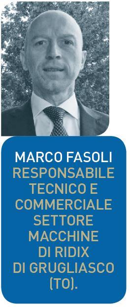 Marco Fasoli, responsabile tecnico e commerciale macchine Roeders