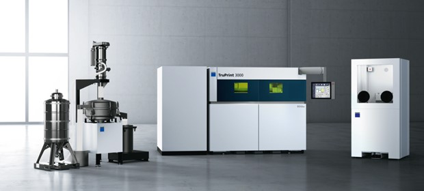 Trumpf - Macchina per l'additive manufacturing modello TruPrint 3000