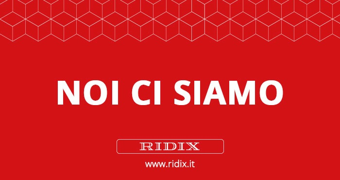 NoiCiSiamo_Ridix