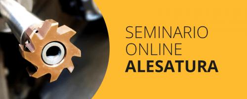 Seminario Online Alesatura