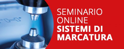 Seminario Online Sistemi di Marcatura