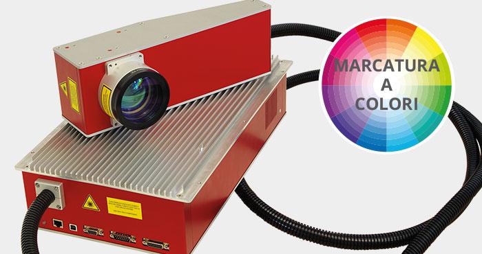 Sistema di marcatura laser MOPA