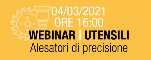 Webinar Alesatori 04/03/2021