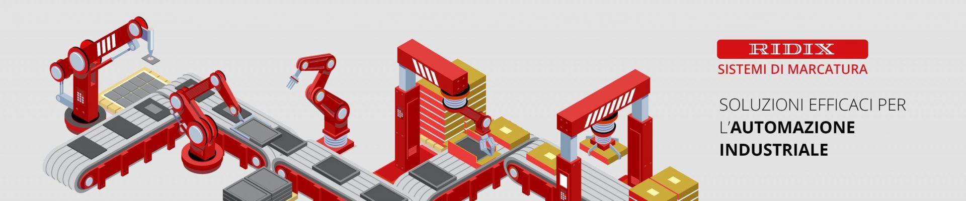 Marcatura e automazione industriale